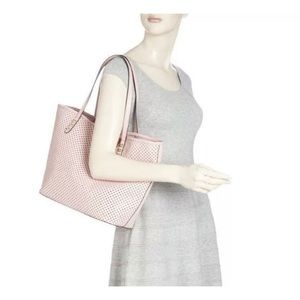 Rebecca Minkoff Star Perforated Pink Tote
